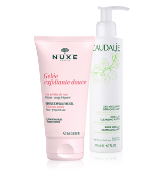 NATURAL MAKEUP REMOVAL AND CLEANSING